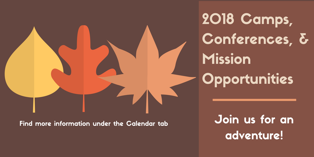 2018 Camps, Conferences & Mission Opportunities slider.png